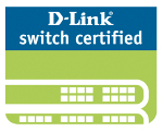 D-Link switch certified